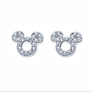 🆕 Disney Mickey Mouse Icon Silhouette Earrings